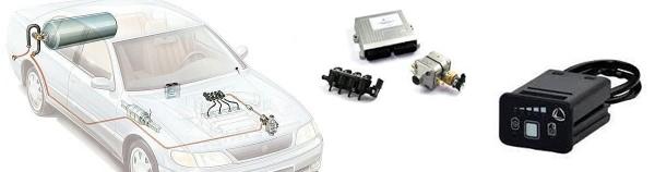 Composantes véhicule gaz propane