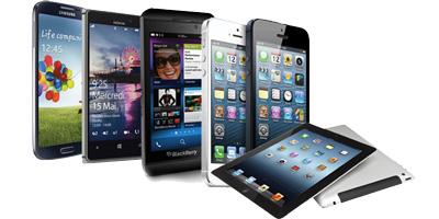 tablette et Iphones