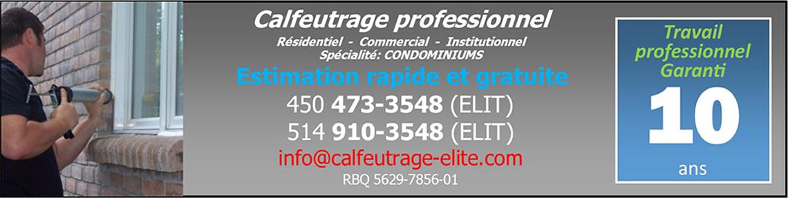 calfeutrage commercial